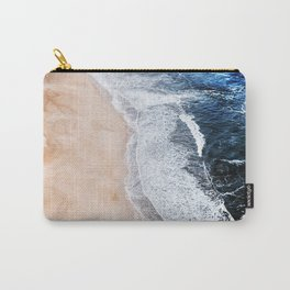 Salty Paths of Waves Carry-All Pouch