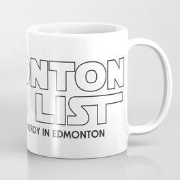 Edmonton Nerd List - From a Galaxy Far Far Away (B&W on light) Coffee Mug
