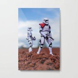 Stormtrooper Patrol #1 Metal Print