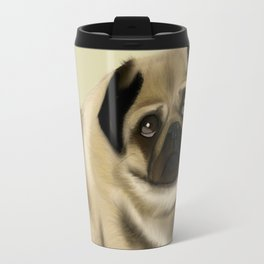 Doug the Pug Travel Mug