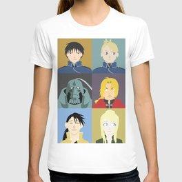 FMA Character Print T-shirt