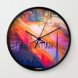 City Adventures Wall Clock