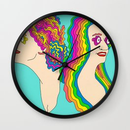 Abbi and Ilana Wall Clock