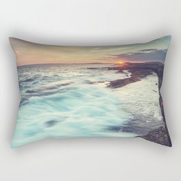 Setting over Surf Rectangular Pillow