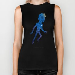 We Are Made of Stars - boy Biker Tank