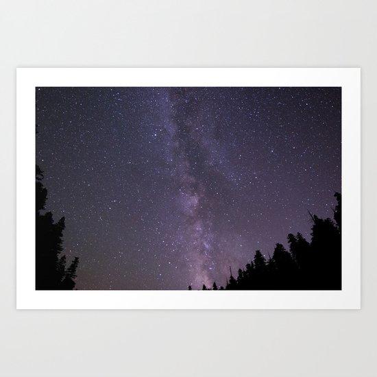 Celestial Night Sky  Art Print