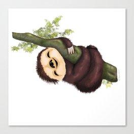 Sloth 2 Canvas Print