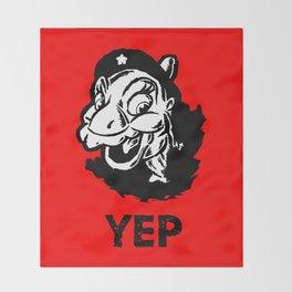 Ducky Guevara (Yep Yep Yep - Land Before Time) Throw Blanket