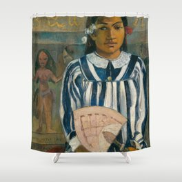 The Ancestors of Tehamana Shower Curtain