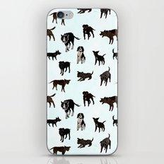Dog pattern iPhone & iPod Skin