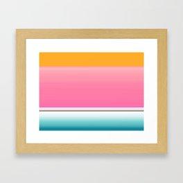 Going for the Kiss Framed Art Print