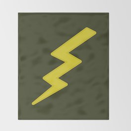 Lightning bolt Throw Blanket
