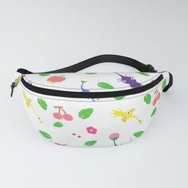 cute pikmin pattern Fanny Pack