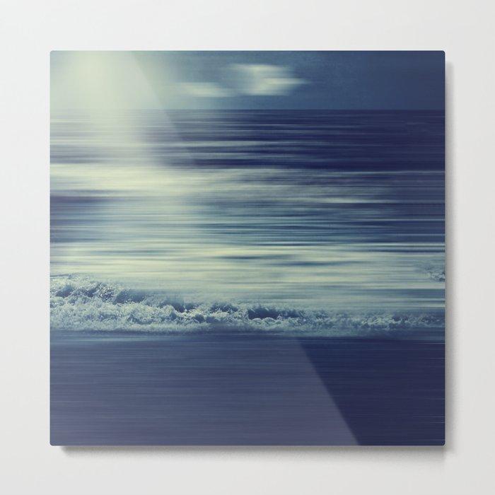 seaStream - abstract seascape Metal Print