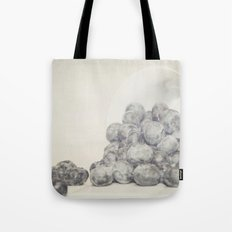 Spilled Blueberries Tote Bag