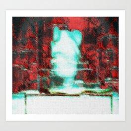 GOD LAMB OF A PSYCHIC ORIGIN Art Print