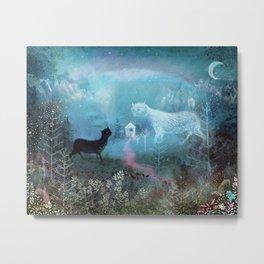 Valley Ghosts Metal Print