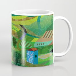 Santa Barbara Wine and Cheese Coffee Mug