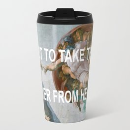 That's It That's The Creation Of Adam Travel Mug