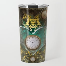 Steampunk, noble design Travel Mug