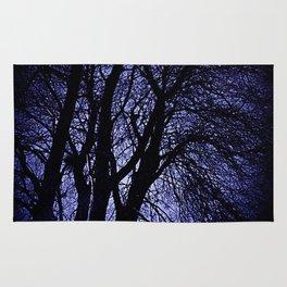 Barren Tree Branches Rug