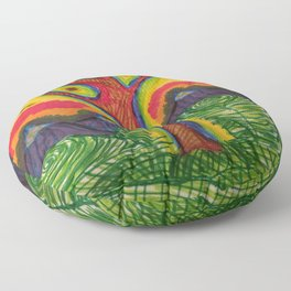 Eye Tree  Floor Pillow
