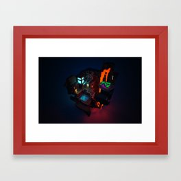 Hide Out Framed Art Print