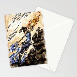 Korra Stationery Cards