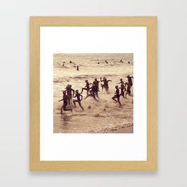 Agosto Framed Art Print