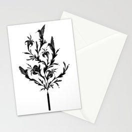 Fluid Bloom Stationery Cards