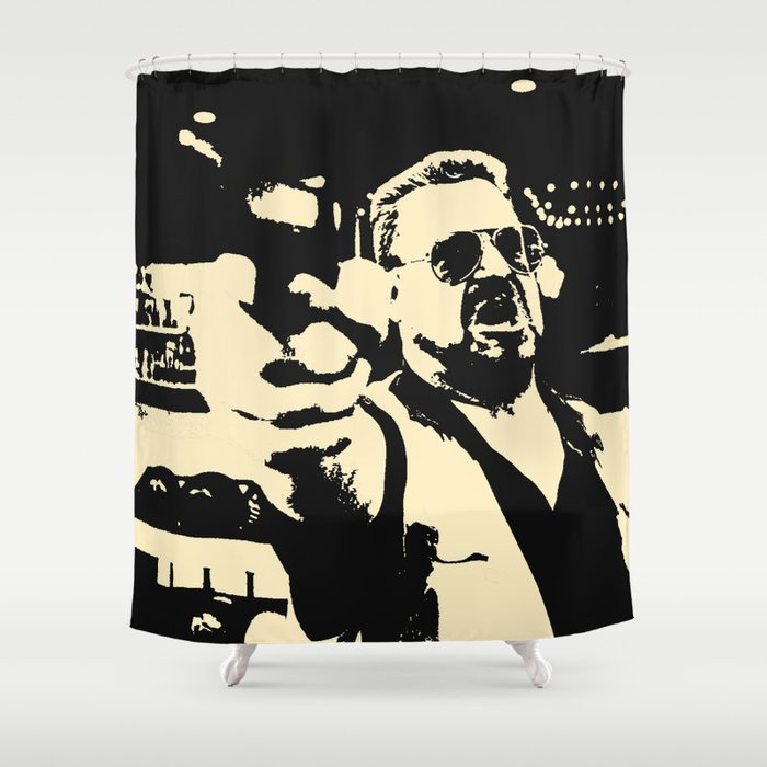 Walter's rules Shower Curtain