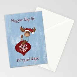 May Your Days Be Merry And Bright Stationery Cards