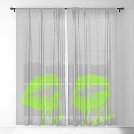 XOXO Sheer Curtain