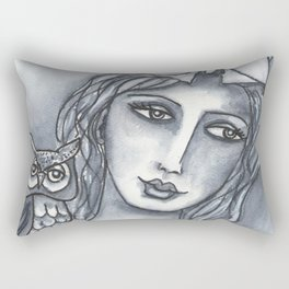 Goddess of Wisdom Rectangular Pillow