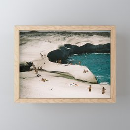 Summer in Greece Framed Mini Art Print