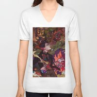 pacific rim V-neck T-shirts featuring Pacific Rim by Sophie'sCorner