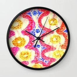 Dumpling girl Wall Clock