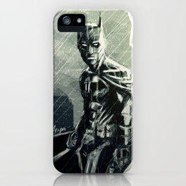 Gotham in Rain iPhone Case