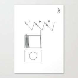 Voyager Golden Record Fig. 2 Canvas Print