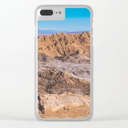 Valle de la Luna (Moon Valley) in San Pedro de Atacama, Chile 2 Clear iPhone Case