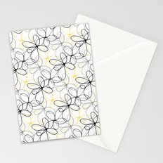 Sketchy Flowers Stationery Cards