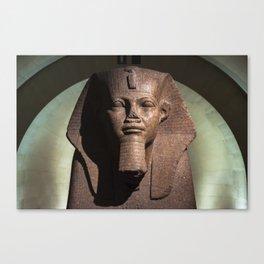 Tutankhamun - Egyptian Statue (c) Canvas Print