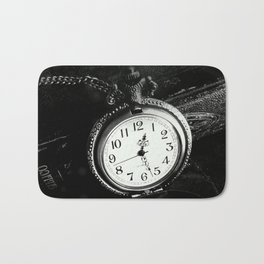 Timepiece Bath Mat