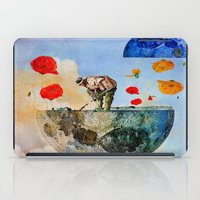 sia iPad Cases featuring The gardener of the moon by Ganech joe