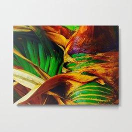 Pandanus in the Tropics Metal Print