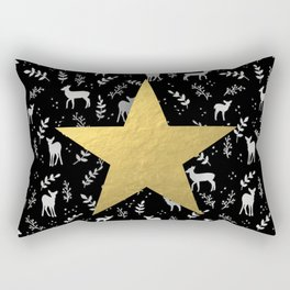 Reindeer games Rectangular Pillow