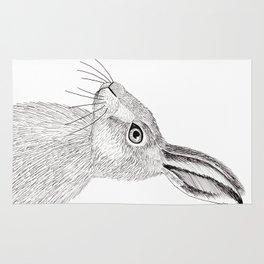 Rabbit heart Rug