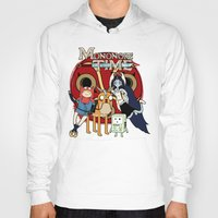 mononoke Hoodies featuring Mononoke Time by RebelArtCollective