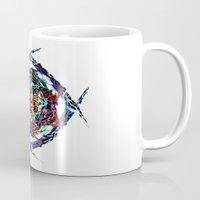 shield Mugs featuring SHIELD by Paix Vivante