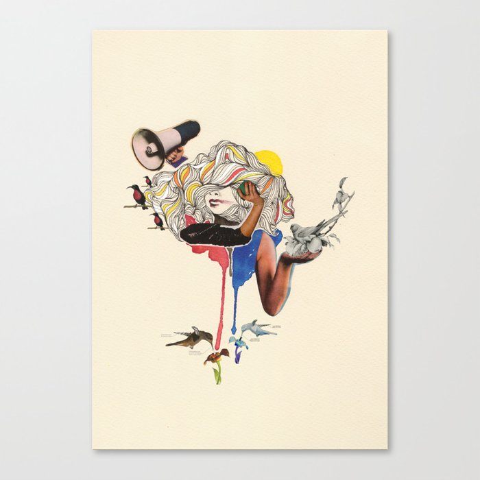 Voicething Canvas Print